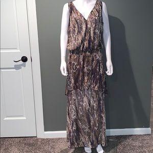 🌷KISCHE Womans sleeveless maxi dress SZ.L